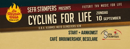 Cycling for Life Sefa Stampers